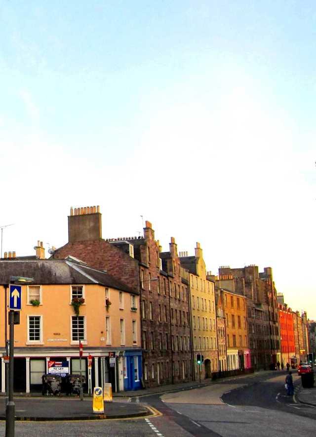 Green lights ahead: West Crosscauseway & Buccleuch Street, Edinburgh