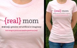 """Real Mom"" T-shirt"